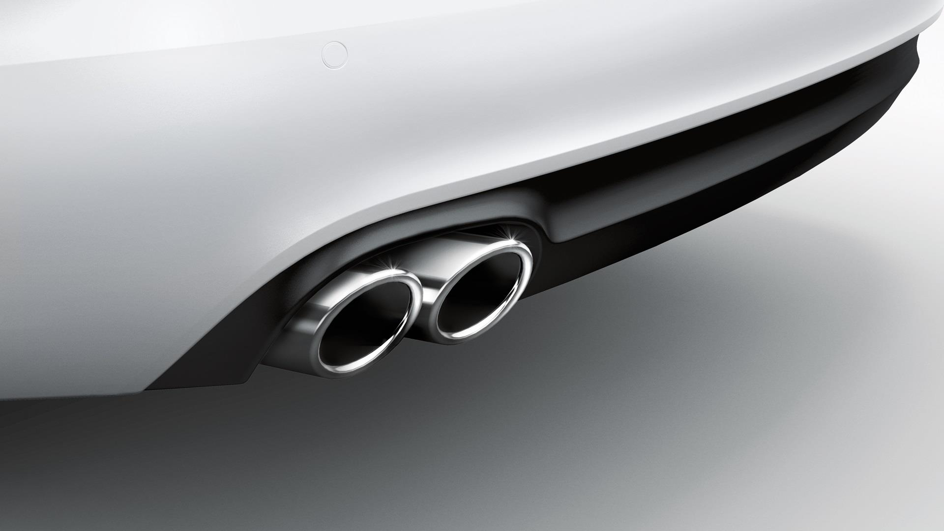 audi s5 exhaust tips chrome pipe 8k0071761 audi. Black Bedroom Furniture Sets. Home Design Ideas